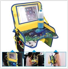 Multi Functions Kids Travel Car Seat Portable Play Food Paint Storage Tray New
