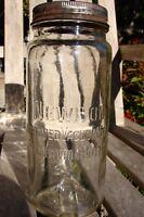 RARE Newbon quart preserving canning fruit jar