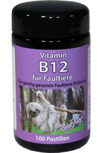 Robert Franz Vitamin B12 - 1000μg - 100 Pastillen - Lutschtabletten - Faultiere