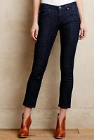 Anthropologie AG Adriano Goldschmied Dotted Stevie Ankle Slim Straight Jeans 29