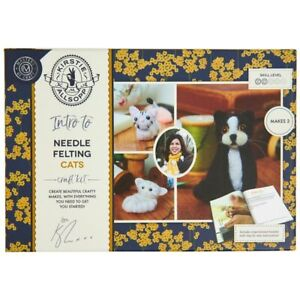 Kirstie Allsopp Needle Felting Craft Kit Cats