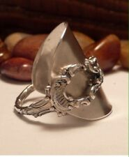 STUNNING ! SPOON RING ! SOLID SILVER RING STERLING SILVER *CHRISTMAS GIFT*