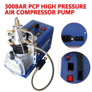 30MPA Electric Air Gun Rifle PCP Pump High Pressure Air Compressor Pump 4500PSI