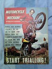 Motorcycle Mechanics (June 1968) BSA A50/RE engine strip/Ducati/Lambretta.