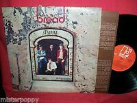 BREAD Manna LP 1971 ITALY MINT- Inner First Pressing