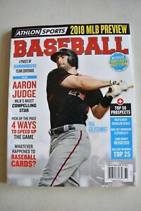 2018 ATHLON Baseball OFFICIAL YEARBOOK