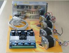 4Axis Nema23 Stepper Motor 287oz-in & Driver CNC Kit