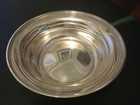 """S. Kirk & Son Sterling Silver 9"""" Round Bowl 4105 CALVERT-OLD MARYLAND PLAIN"""