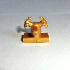Lego Gold Faucet Bathroom Sink Piece EUC