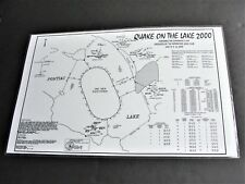 Quake on the Lake 2000-Featuring The Governors Cup, Michigan -Photo Map Print.