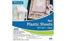 Plastic Sheet 12x12 .020