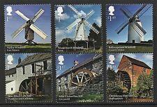GB Stamps 2017 'Windmills and Watermills' - U/M
