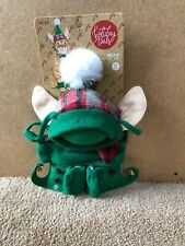 NEW Holiday Tails 118 Elfie Costume Cat One Size
