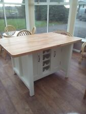 Kitchen Island Rustic hand made UNPAINTED - The Holt