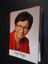 61247 Inge Höger politica originale con firma autografo cartolina