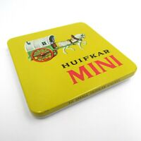Vintage HUIFKAR MINI Empty Tin Box 10 Small Huifkar Cigars Very Good Condition