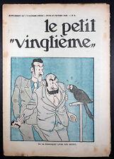 """Le petit """"vingtième"""" n° 8 de février 1936 TBE"""