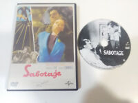 SABOTAJE ALFRED HITCHCOCK DVD + EXTRAS CASTELLANO ENGLISH