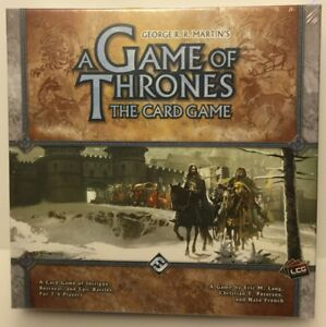 A GAME OF THRONES THE CARD GAME  LCG CORE SET - SEALED