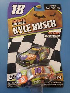 2020 Wave 2 Kyle Busch #18 M&M's Halloween 2019 Authentics 1:64 Diecast (NIP)