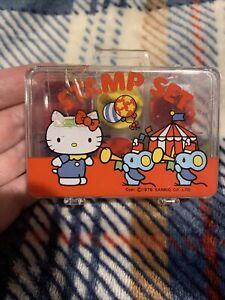 Sanrio Vintage 1976 Hello Kitty Stamp Set