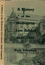 MELBOURNE LAW SCHOOL HISTORY university victoria william hearn zelman cowen