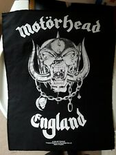 MOTORHEAD ENGLAND 2004 Sew on badge