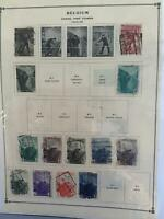 Belgium stamps page R24307