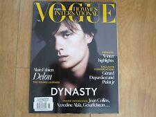 Vogue Paris Hommes International F/ W 2013 / 14 Alain Fabien Delon,Joan Collins.