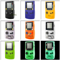 Solid Clear Color Housing Shell Buttons Mod for Nintendo Game Boy Color GBC