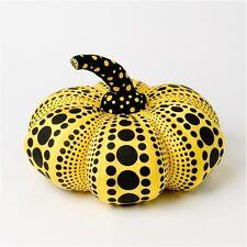 Yayoi Kusama Pumpkin Plush Soft Sculpture S 24cm Japan Artist