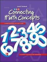 Connecting Math Concepts Level E, Textbook by McGraw-Hill Education|SRA/McGraw-H
