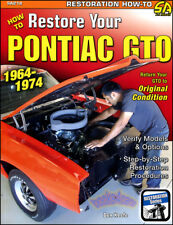 PONTIAC GTO RESTORATION MANUAL HOW TO RESTORE BOOK KEEFE