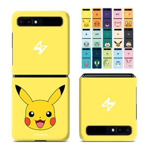 For Samsung Galaxy Z Flip 3D Hard Case with Pokemon Character