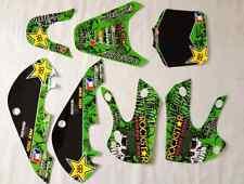 02-08 KLX110 KX65 motorcycle 3M graphics decals sticker kawasaki dirt pit bike