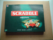 SCRABBLE ORIGINAL BY MATTEL GAMES, COMPLETE AND IN EXCELLENT CONDITION.