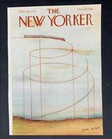 COVER ONLY ~ The New Yorker Magazine, October 15, 1979 ~ Paul Degen