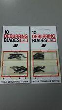NOGA DEBURRING BLADES N1 Blade - BN1010 20 Pcs