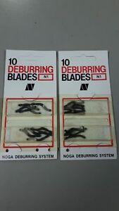 NOGA DEBURRING BLADES N2 Blade - BN2010 20 Pcs