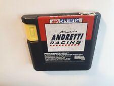 Mario Andretti Racing (Sega Genesis, 1994) CANADA FAST FREE SHIPPING !!