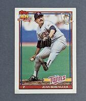 1991 Topps Desert Shield #449 Juan Berenguer Minnesota Twins