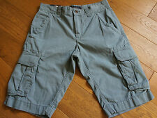 TOMMY HILFIGER JOHN CARGO SHORTS IN PROVINCIAL BLUE SIZE 28""