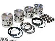 Austin Nash Metropolitan, MGA MG ZA/ZB Riley Piston Set w/Rings & Pins