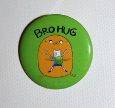 "Adventure Time with Finn and Jake Big BROHUG 1 1/4"" Pinback Pin Button Jewelry"