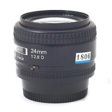 Used Nikon Nikkor 24mm 2.8D / f/2.8 AF D Lens for nikon