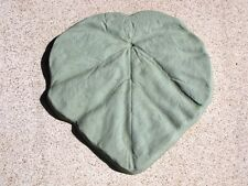 """1- 18""""x2"""" MOLD TO MAKE THICK TROPICAL LEAF GARDEN STEPPING STONES FOR $2.00"""