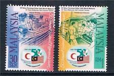 La Malaysia 1998 Red Crescent società SG 683-4 MNH