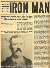 """William Harrison """"Iron Man"""" Llewellyn, An American. Warrior"""
