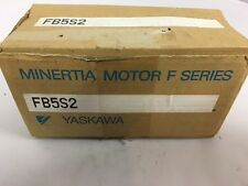MINERTIA MOTOR F SERIES FB5S2 YASKAWA SERVO MOTOR WITHOUT ENCODER