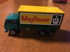 Vintage 1976 Matchbox Superfast Lesney No. 42 Mercedes Container Truck Die Cast